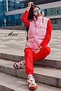 Женская жилетка стеганная с накладными карманами 63zi34, фото 4