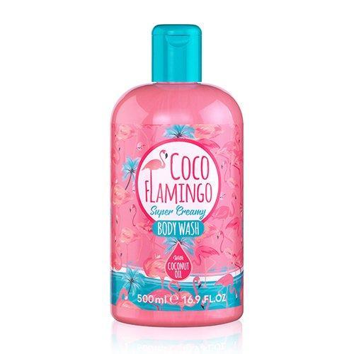 "Гель для душа с маслом кокоса ""COCO FLAMINGO BODY WASH Inectol""  Lambre / Ламбре 500ml"