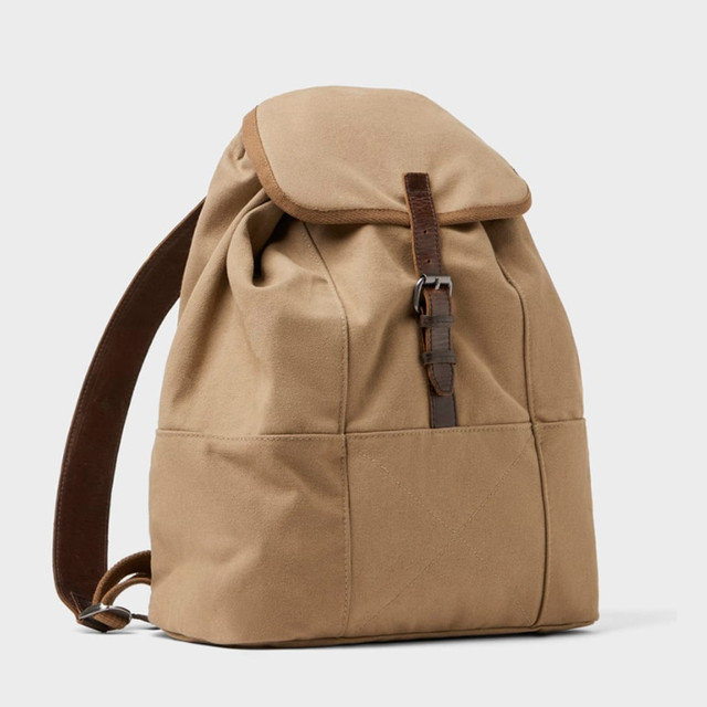 Брезентовый рюкзак Zara | вид спереди