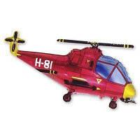 Вертоліт червоний 22*38 (57см*96см)