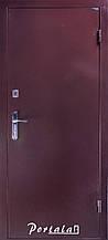 Двери уличные, серия Элегант-Антик гнутый профиль, антик медный снаружи, металл 1,5 мм