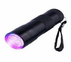 Ліхтарик ультрафіолетовий 12 LED