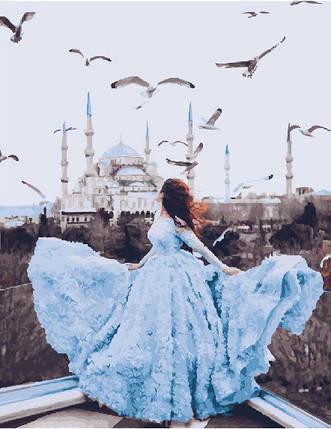 Картина по Номерам 40x50 см. Дыхание Стамбула, фото 2