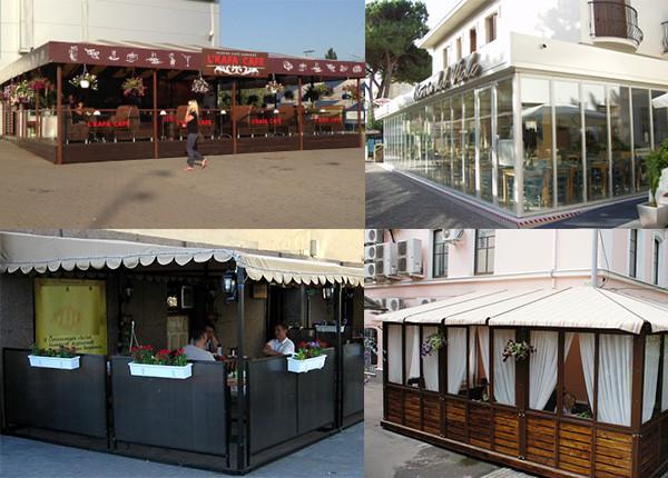 Тераса для кафе та ресторанів