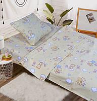 Детское постельное белье в кроватку - Бязь Gold - Сладкие сны
