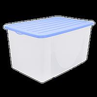 Емкость для хранения вещей с крышкой 40л