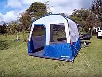 Шатёр, Беседка, Палатка на 8 мест с дверями и окнами - QUECHUA