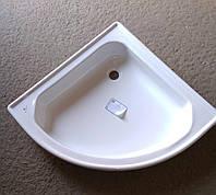 Поддон душевой стальной 70х70 Koller Pool полукруглый