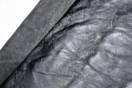 Кожа стелечная лаковая шевро, дц.Цвет черный., фото 2