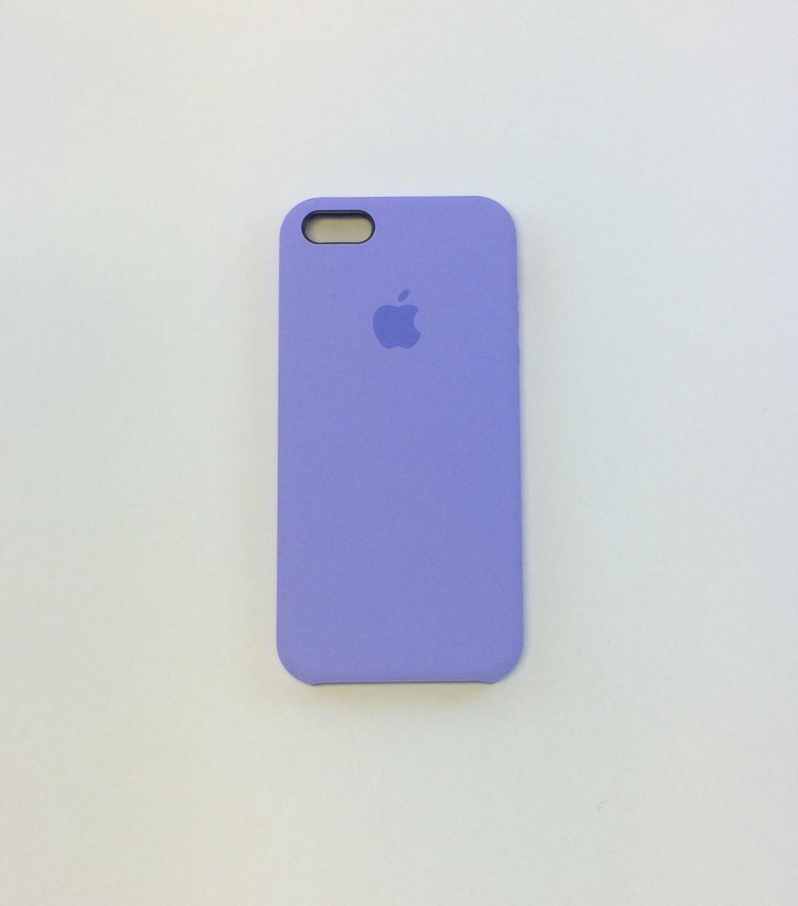 Силиконовый чехол для iPhone 5/5s/SE, - «сирень» - copy original