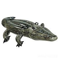 Детский надувной плот для катания Intex 57551 «Алигатор» (170 х 86 см), фото 1