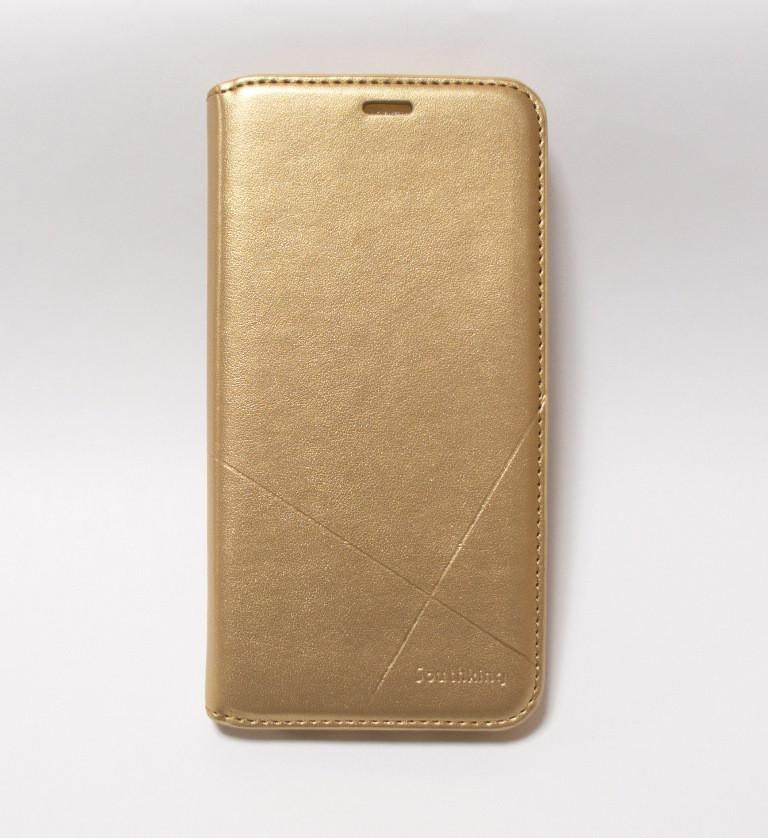 Чехол-книжка для смартфона Xiaomi Redmi Note 6 Pro золотая MKA
