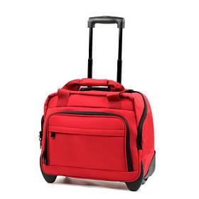 Сумка дорожная на колесах Members Essential On-Board Laptop 21 Red