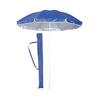 Пляжный зонт с наклоном 1,7 м, расцветка однотонная с напылением