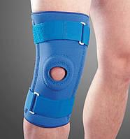 Ортез на коленный сустав неопреновый со спиральными ребрами NS-706, Ortop, Тайвань