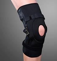 Ортез на коленный сустав с полицентрическими облегченными шарнирами, разъемный ES-798, Ortop, Тайвань