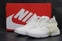 Мужские кроссовки в стиле Nike Huarache Drift White, белые