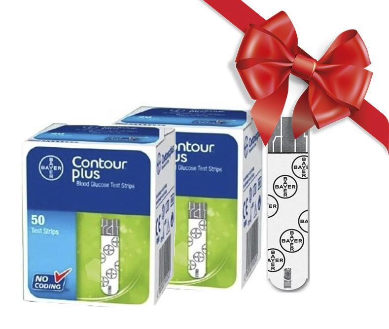 Тест-полоски  CONTOUR® PLUS № 50 Контур Плюс 50 шт 5 упаковок