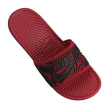 Тапочки мужские спортивные Nike Benassi JDI SE AJ6745-601 Красный