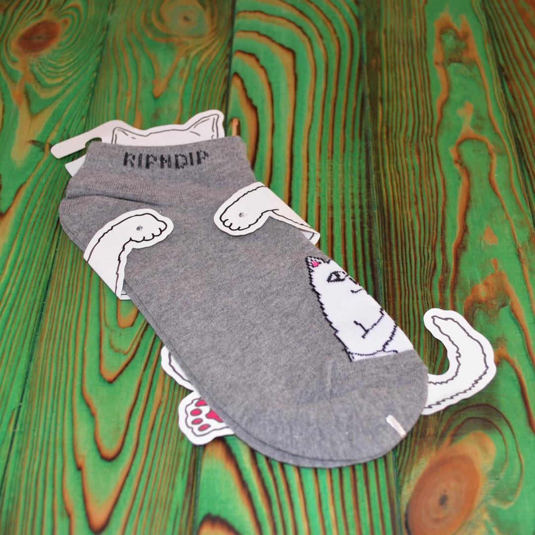 Носки низкие Ripndip Gray