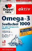 Биологически активная добавка Doppelherz aktiv Omega-3 Seefischöl 1000, 80 шт.