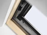 Мансардное окно VELUX Стандарт Плюс GLL 1061, ручка сверху, дерево/лак, 2-камерный, 66х118, фото 5