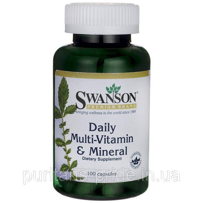 Swanson multi and mineral 100 capsules