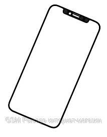 Стекло дисплея iPhone XS Max Black (для переклейки) Original