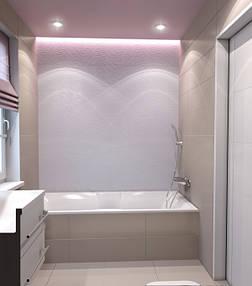 Натяжные потолки ванная. 3
