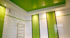 Натяжные потолки ванная. 4