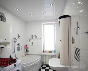 Натяжные потолки ванная. 5