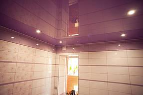 Натяжные потолки ванная. 6