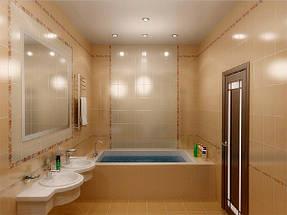 Натяжные потолки ванная. 8