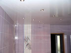 Натяжные потолки ванная. 9