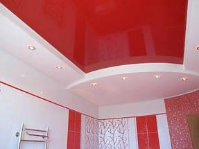 Натяжные потолки ванная. 11