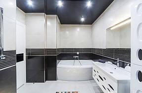 Натяжные потолки ванная. 15