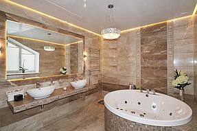 Натяжные потолки ванная. 16