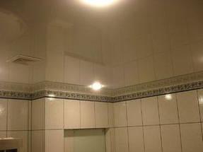 Натяжные потолки ванная. 20