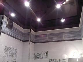 Натяжные потолки ванная. 23