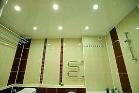 Натяжные потолки ванная. 26