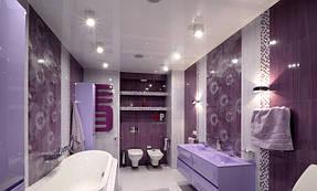 Натяжные потолки ванная. 28