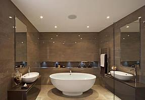 Натяжные потолки ванная. 31