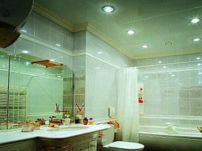 Натяжные потолки ванная. 34