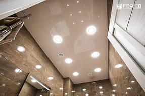 Натяжные потолки ванная. 35