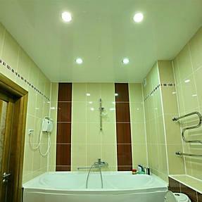 Натяжные потолки ванная. 36