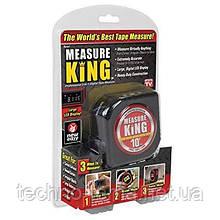 Рулетка Measure King 3 в 1