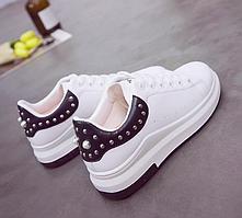 Кроссовки женские Kaila Белые с черным 38 размер