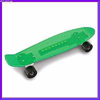 Детский Скейт с подсветкой DOLONI TOYS 0151/5 салатовый