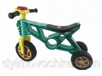 Детский беговел Орион 171, ролоцикл, трехколесный, бирюзовый