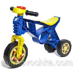 Детский беговел Орион 171, ролоцикл, пластмассовый, синий